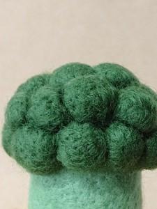羊毛フェルト ブロッコリー