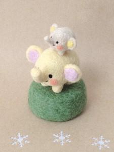 羊毛フェルト ぞう