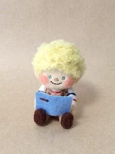 羊毛フェルト 男の子