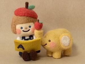 chai 羊毛フェルト