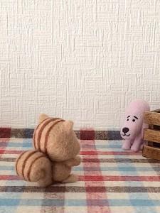 羊毛フェルト シャイプープー