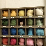 DIYで羊毛フェルト収納