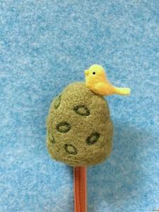 羊毛フェルト 鳥
