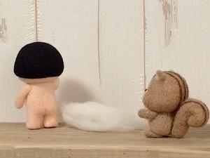 金太郎 羊毛フェルト