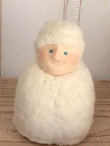 羊毛フェルト サンタ